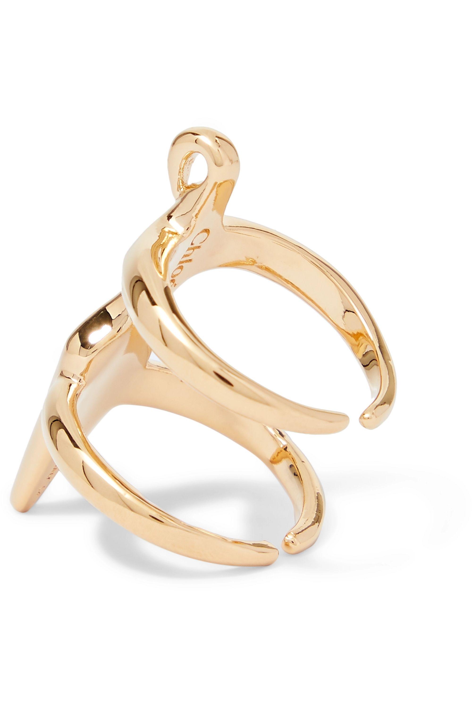 Chloé Femininities goldfarbener Ring