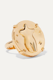 Chloé Femininities gold-tone ring