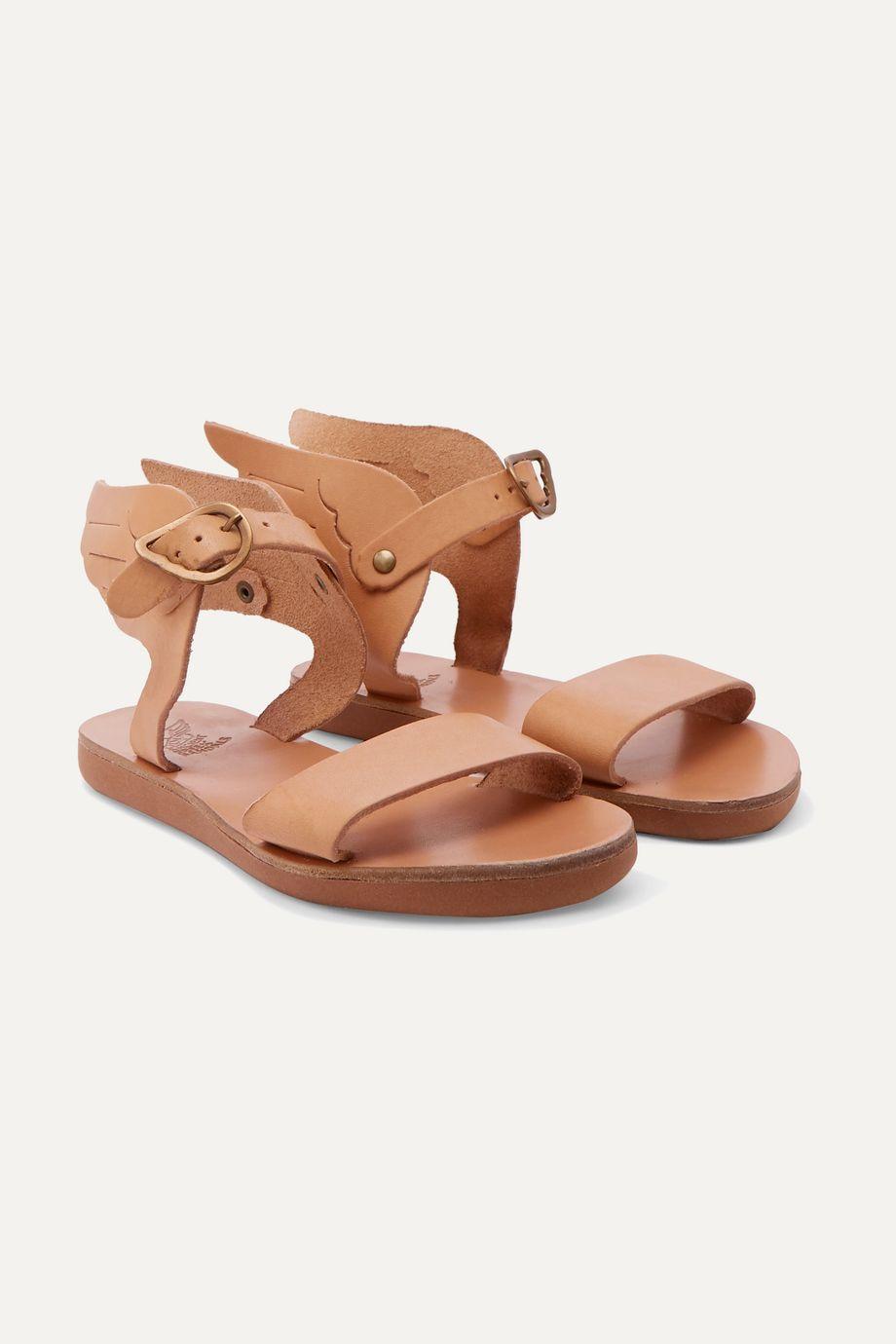 Ancient Greek Sandals Kids Little Ikaria leather sandals
