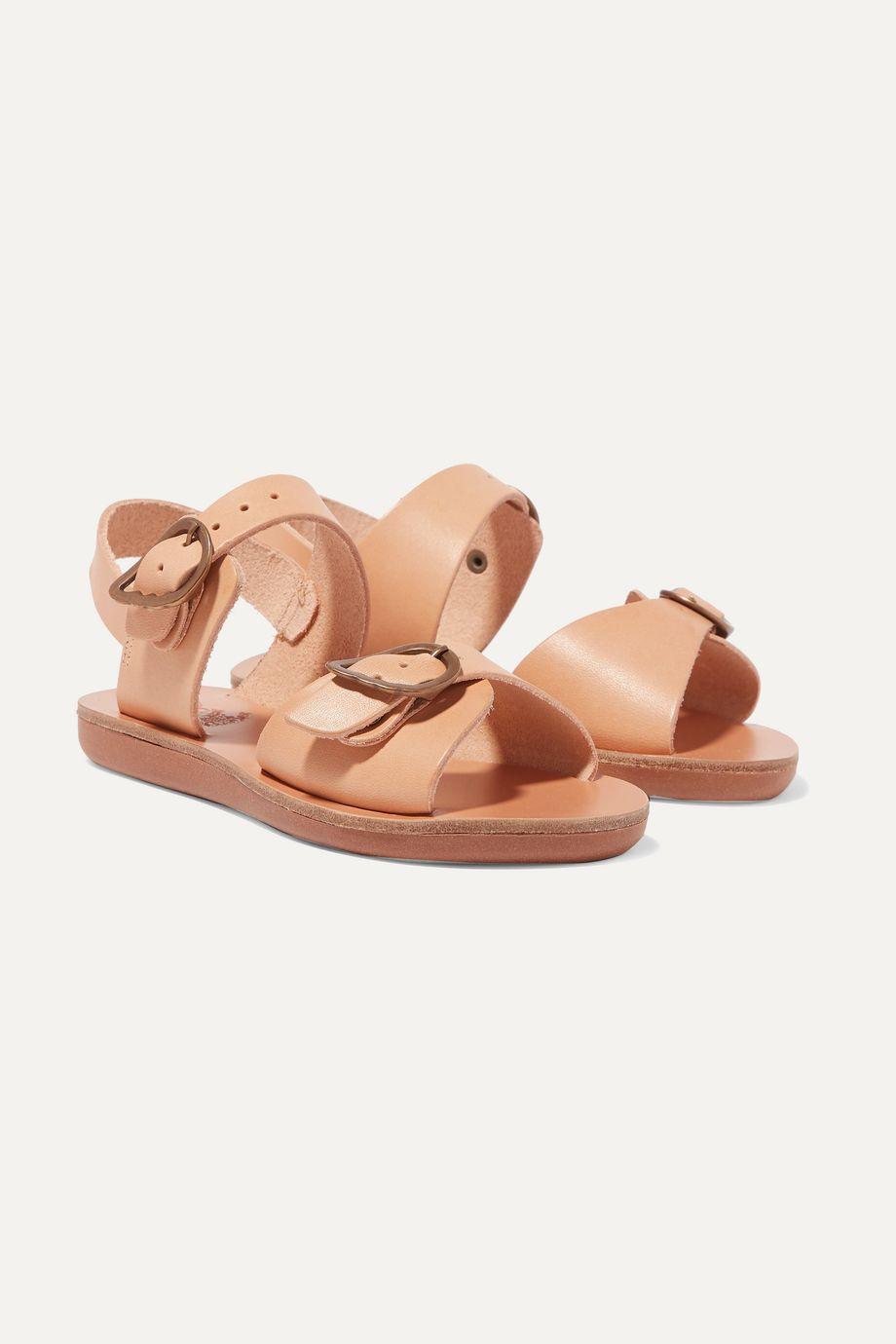 Ancient Greek Sandals Kids Size 23 - 34 Little Irini buckled leather sandals