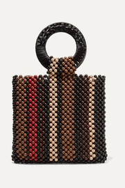 Ulla Johnson Arusi beaded tote