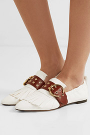 Roy fringed leather loafers