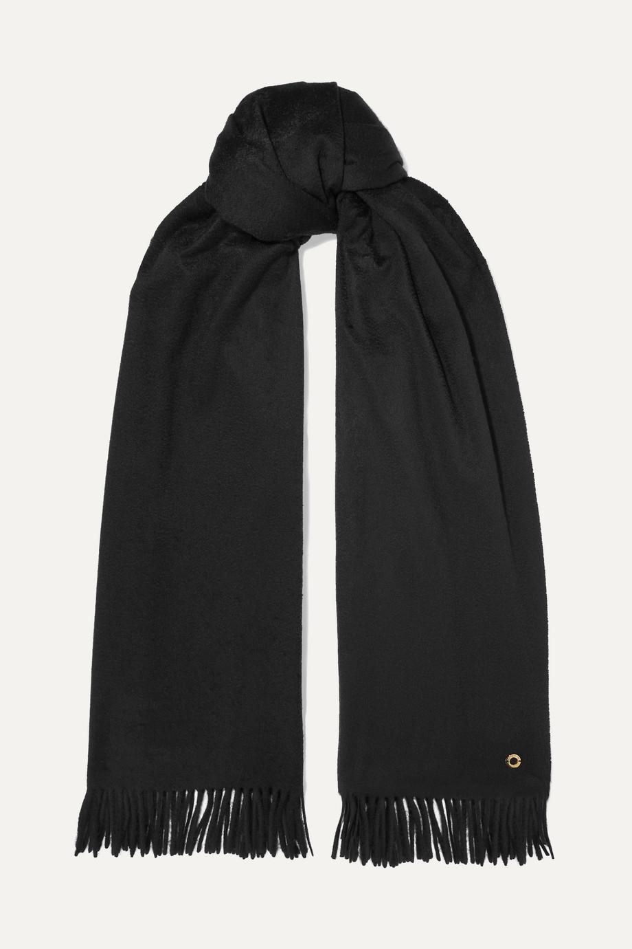 Loro Piana Opera fringed cashmere scarf