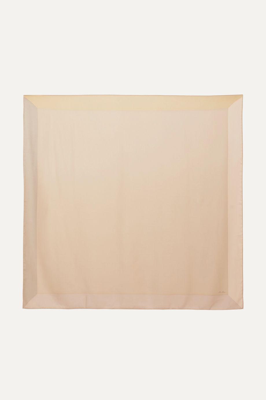 Loro Piana Infinito cashmere and silk-blend scarf