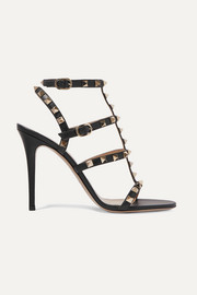 Valentino Valentino Garavani The Rockstud 105 leather sandals