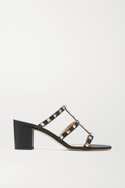 Valentino Garavani The Rockstud 60 leather mules