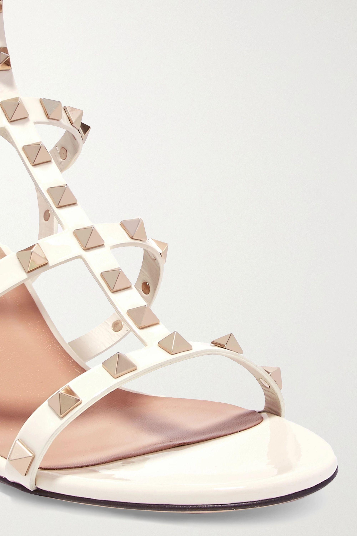 Valentino Valentino Garavani The Rockstud 60 patent-leather sandals