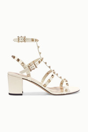 Valentino Garavani The Rockstud 60 patent-leather sandals