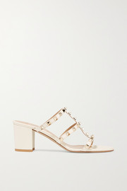 Valentino Valentino Garavani The Rockstud 60 leather mules