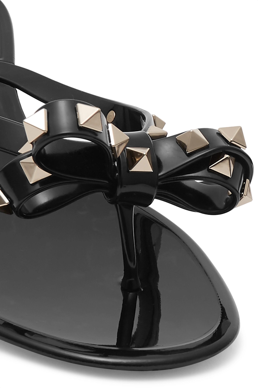 Valentino Valentino Garavani The Rockstud rubber flip flops