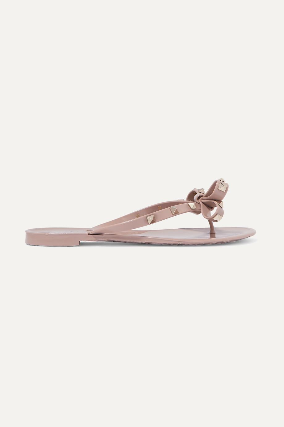 Valentino Valentino Garavani The Rockstud rubber sandals