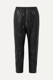 Nili Lotan Monaco leather straight-leg pants