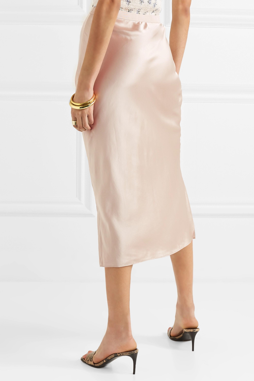Cami NYC The Jessica silk-charmeuse midi skirt