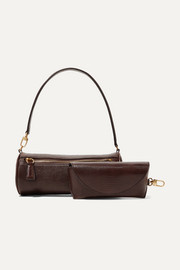 Suzy lizard-effect leather tote