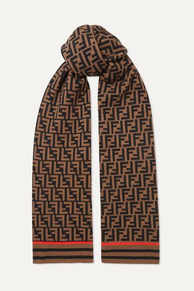 offizielle Seite berühmte Designermarke angemessener Preis Schal aus einer bedruckten Kaschmir-Wollmischung
