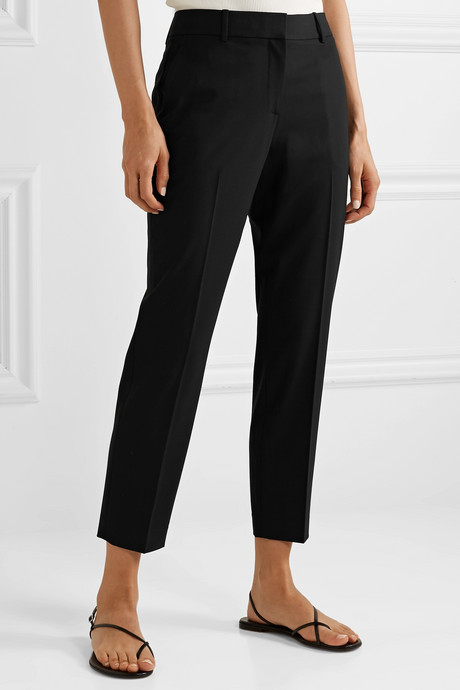 Treeca 2 stretch-wool tapered pants