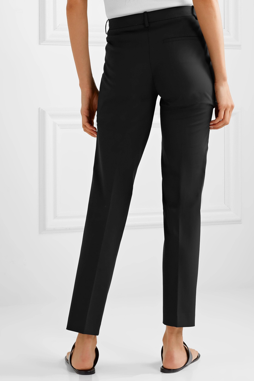 Theory Wool-blend straight-leg pants