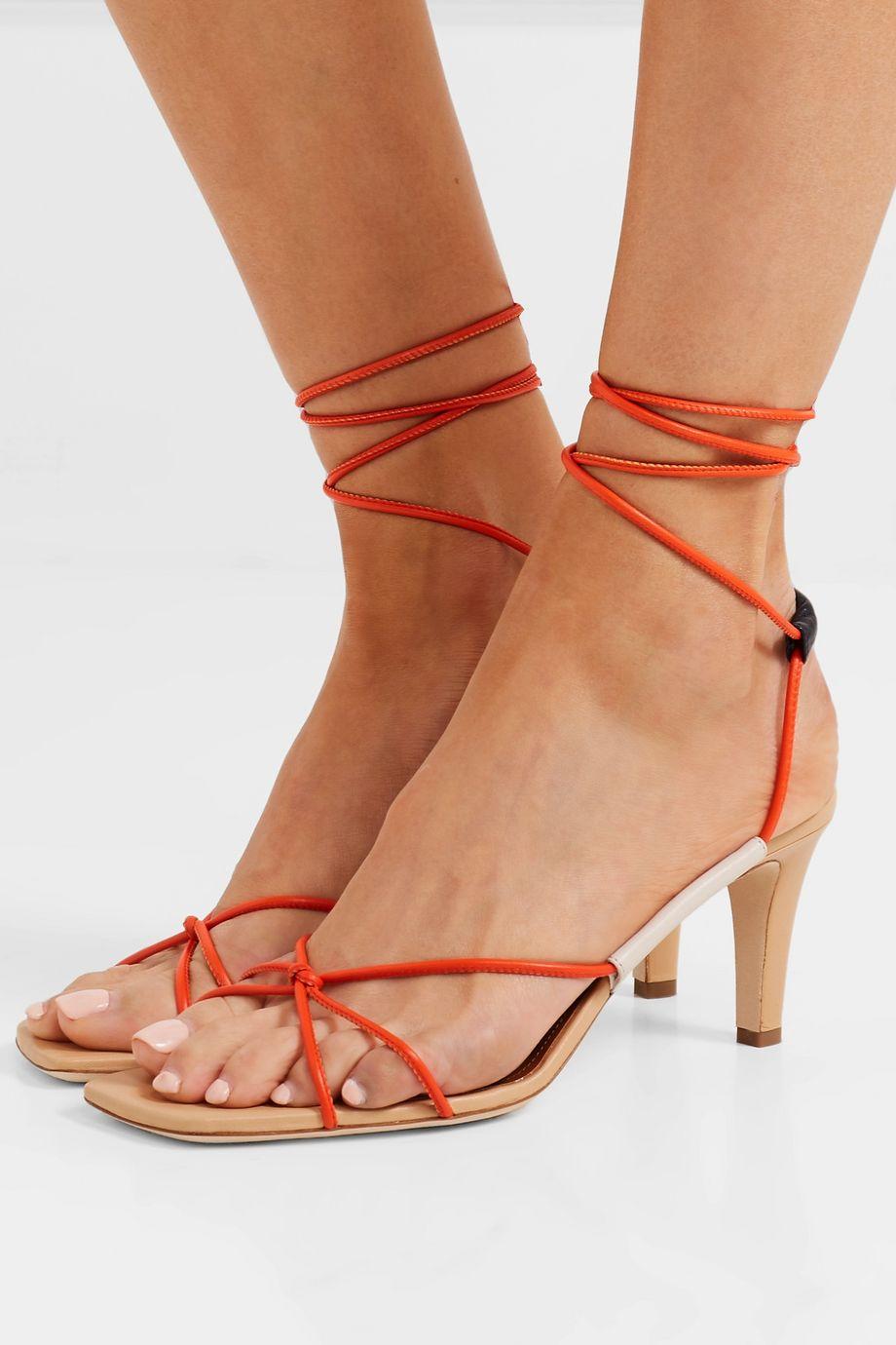 Malone Souliers + Roksanda Camila 70 leather sandals