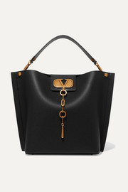 Valentino Garavani Escape textured-leather tote