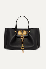Valentino Valentino Garavani Escape small textured-leather tote