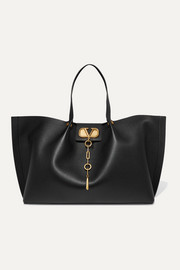 Valentino Garavani Escape large textured-leather tote