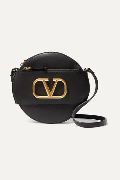Sac Porté épaule En Cuir Go Logo Valentino Garavani by Valentino