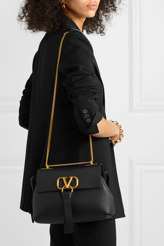 Valentino Valentino Garavani VRING small leather shoulder bag