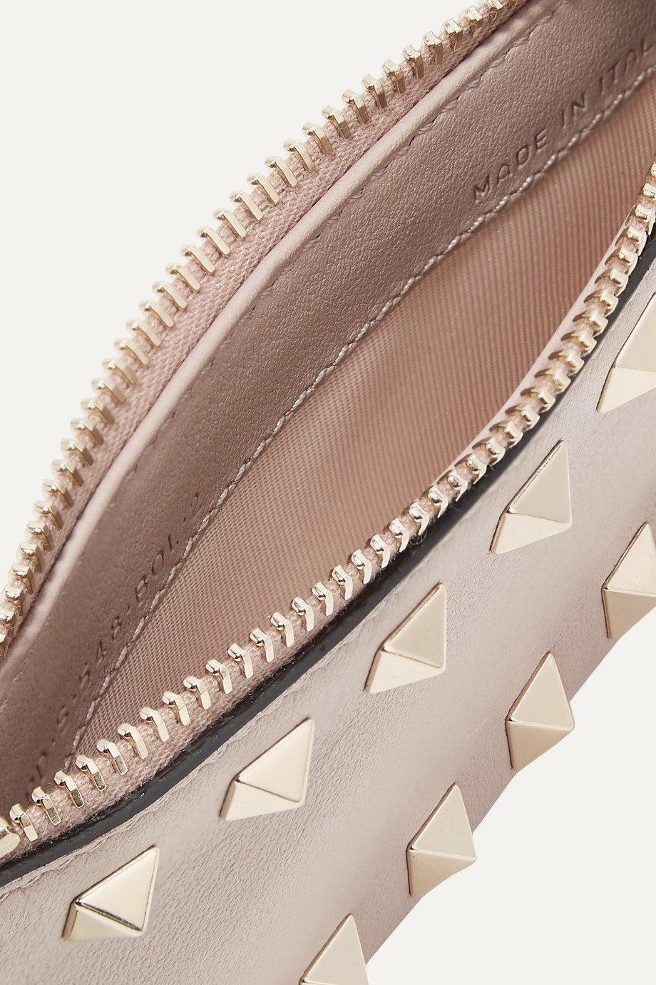 Valentino Valentino Garavani The Rockstud leather cardholder