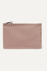 Valentino Valentino Garavani The Rockstud large leather pouch