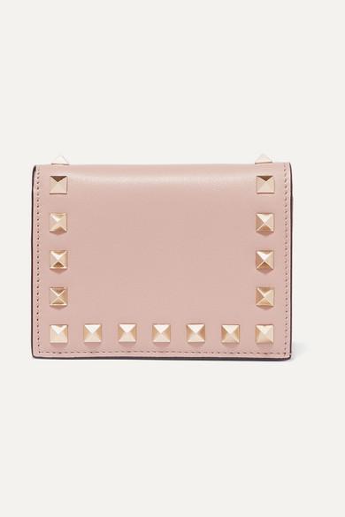 Valentino Wallets Valentino Garavani The Rockstud leather wallet