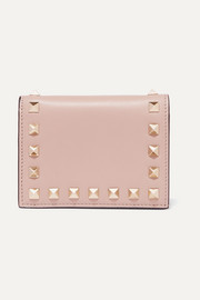 Valentino Valentino Garavani The Rockstud leather wallet
