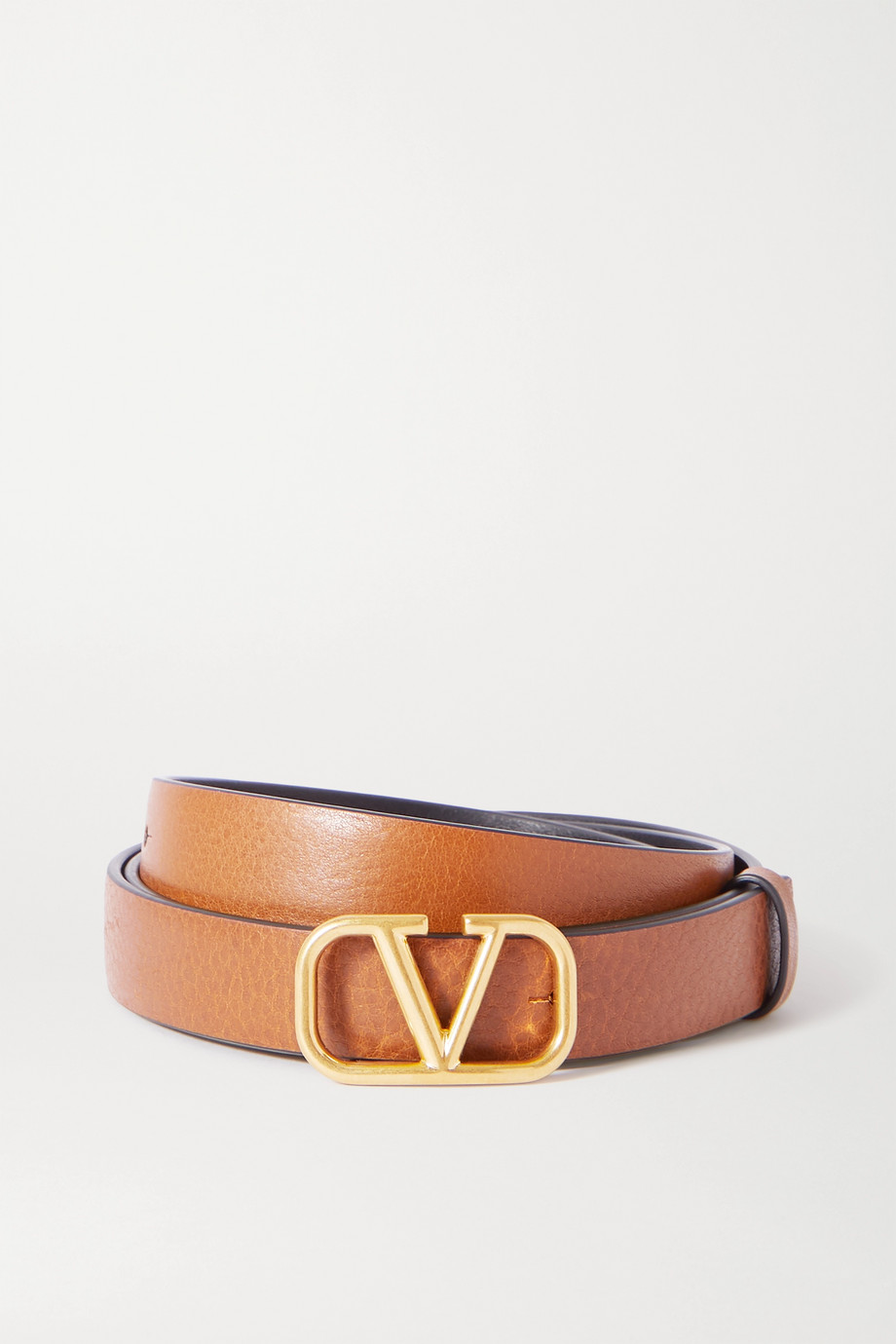 Valentino Valentino Garavani reversible leather belt
