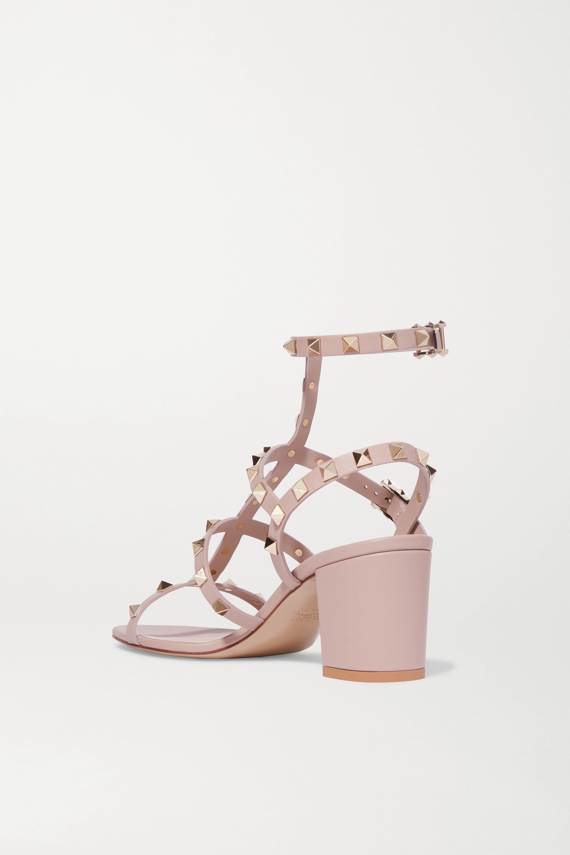 Valentino Valentino Garavani Rockstud 55 leather sandals