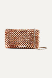 Loeffler Randall Mimi beaded satin shoulder bag