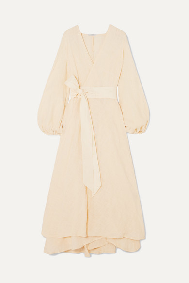 Gaia Cotton Gauze Wrap Maxi Dress by Kalita