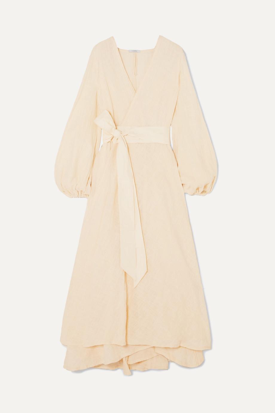 Kalita | Gaia cotton-gauze wrap maxi dress | NET-A-PORTER.COM