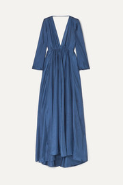 Kalita Clemence silk-organza maxi dress
