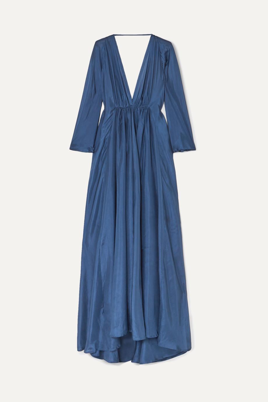 Kalita | Clemence silk-organza maxi dress | NET-A-PORTER.COM