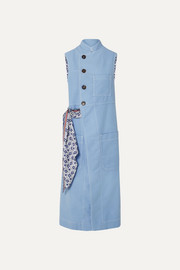 Chloé Cotton and silk vest