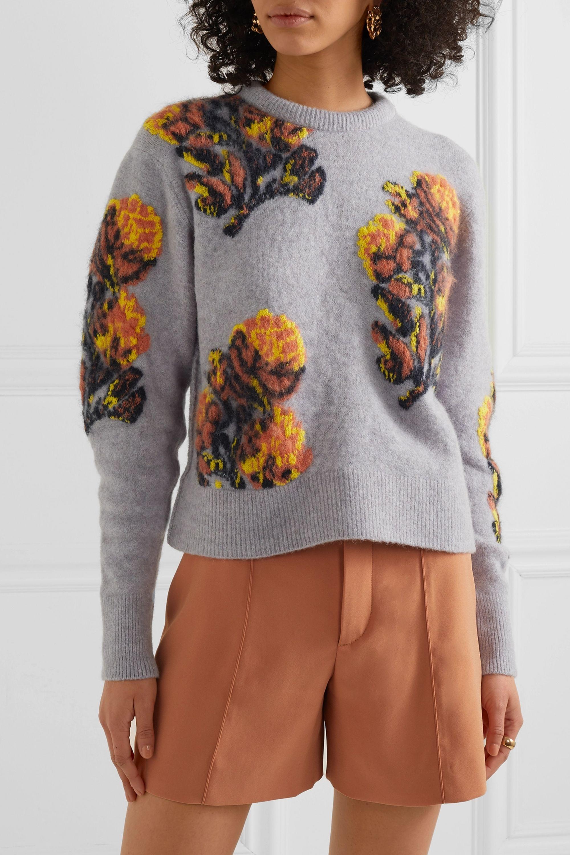 Chloé Jacquard-knit sweater