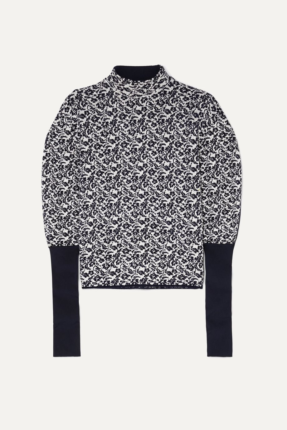 Chloé Floral-jacquard sweater