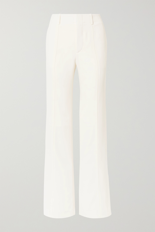 Chloé Crepe wide-leg pants