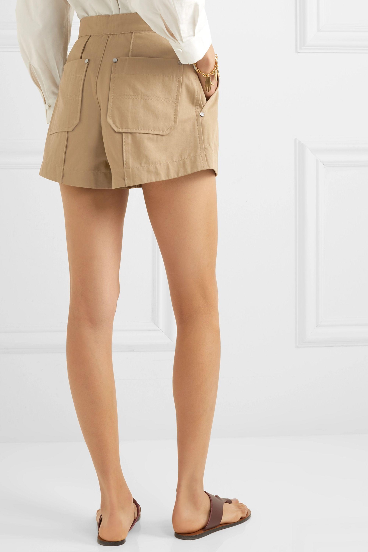Chloé 纯棉帆布短裤