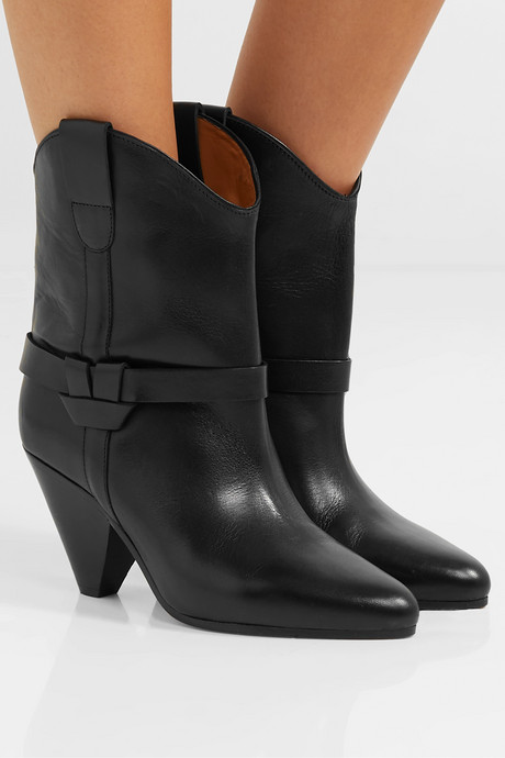 Deane leather ankle boots