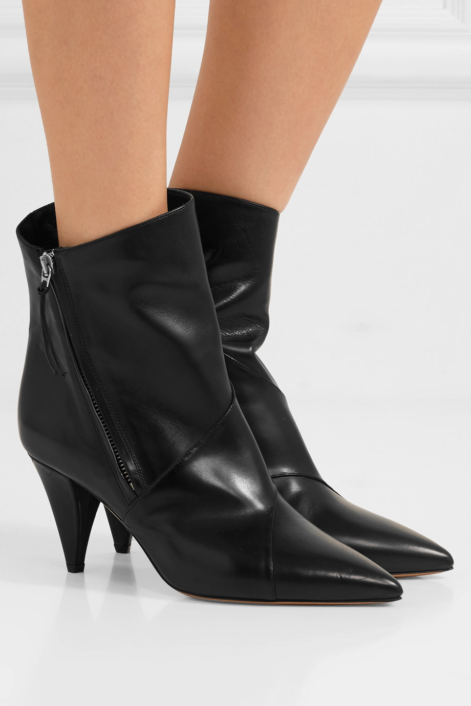Isabel Marant Latts leather ankle boots