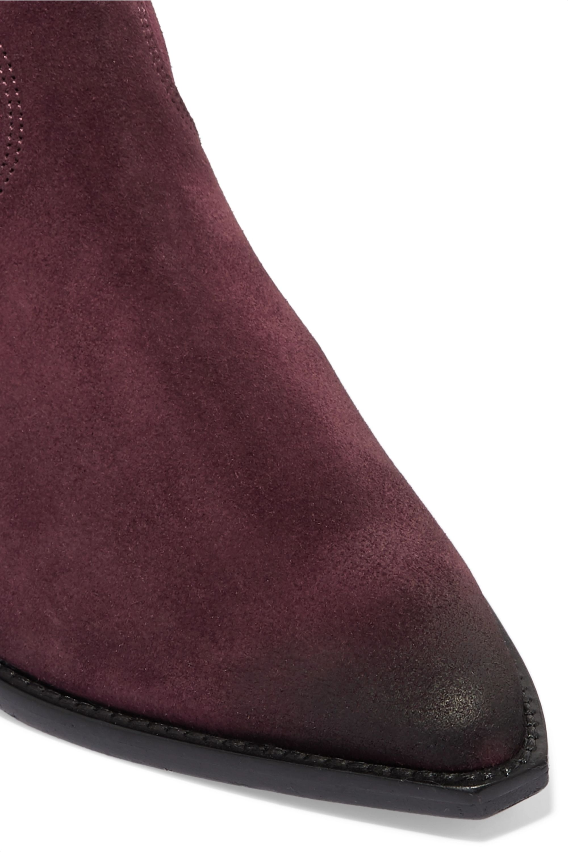 Isabel Marant Dewina Ankle Boots aus Veloursleder
