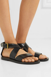Juzee studded leather sandals