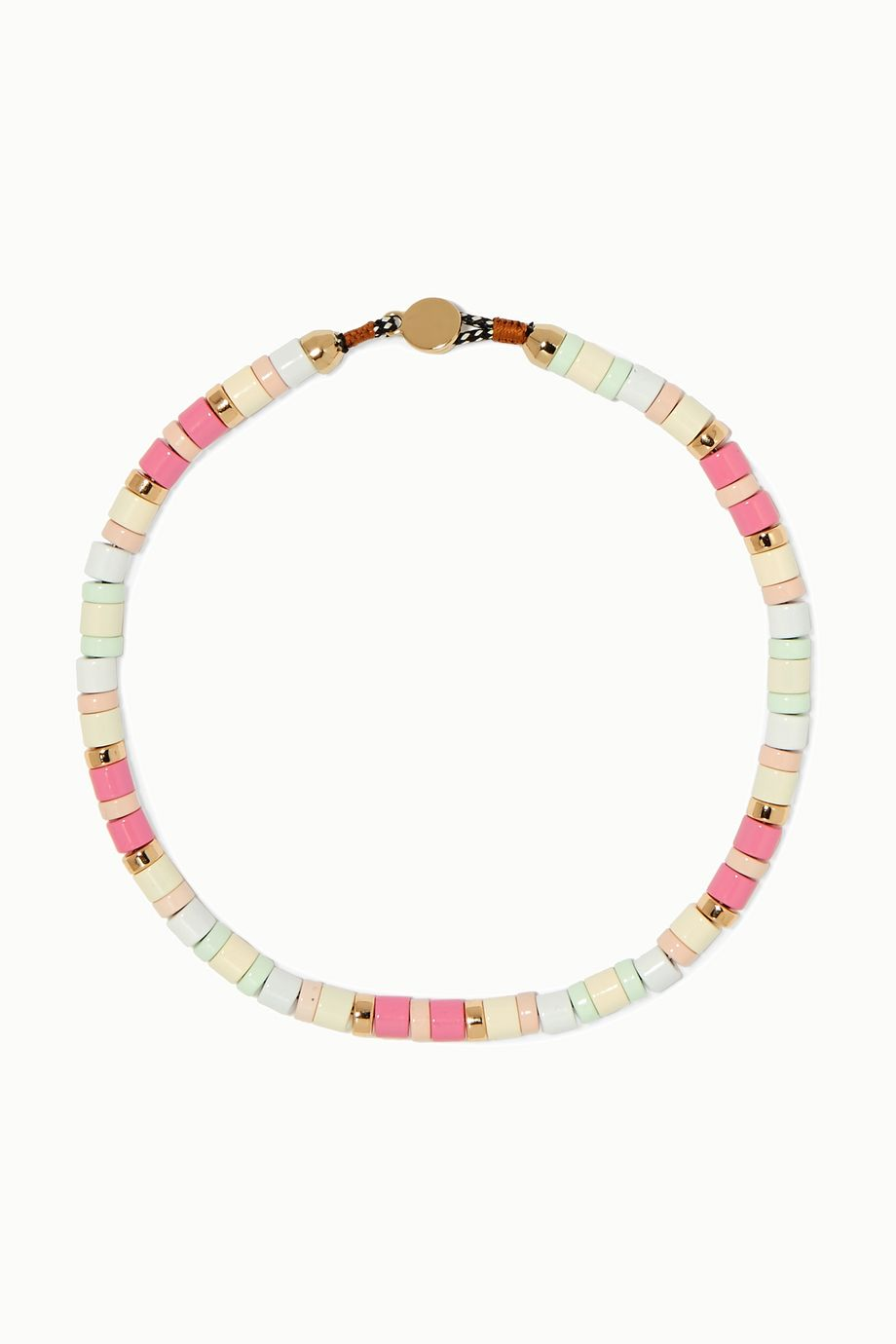 Roxanne Assoulin Bahamas enamel necklace