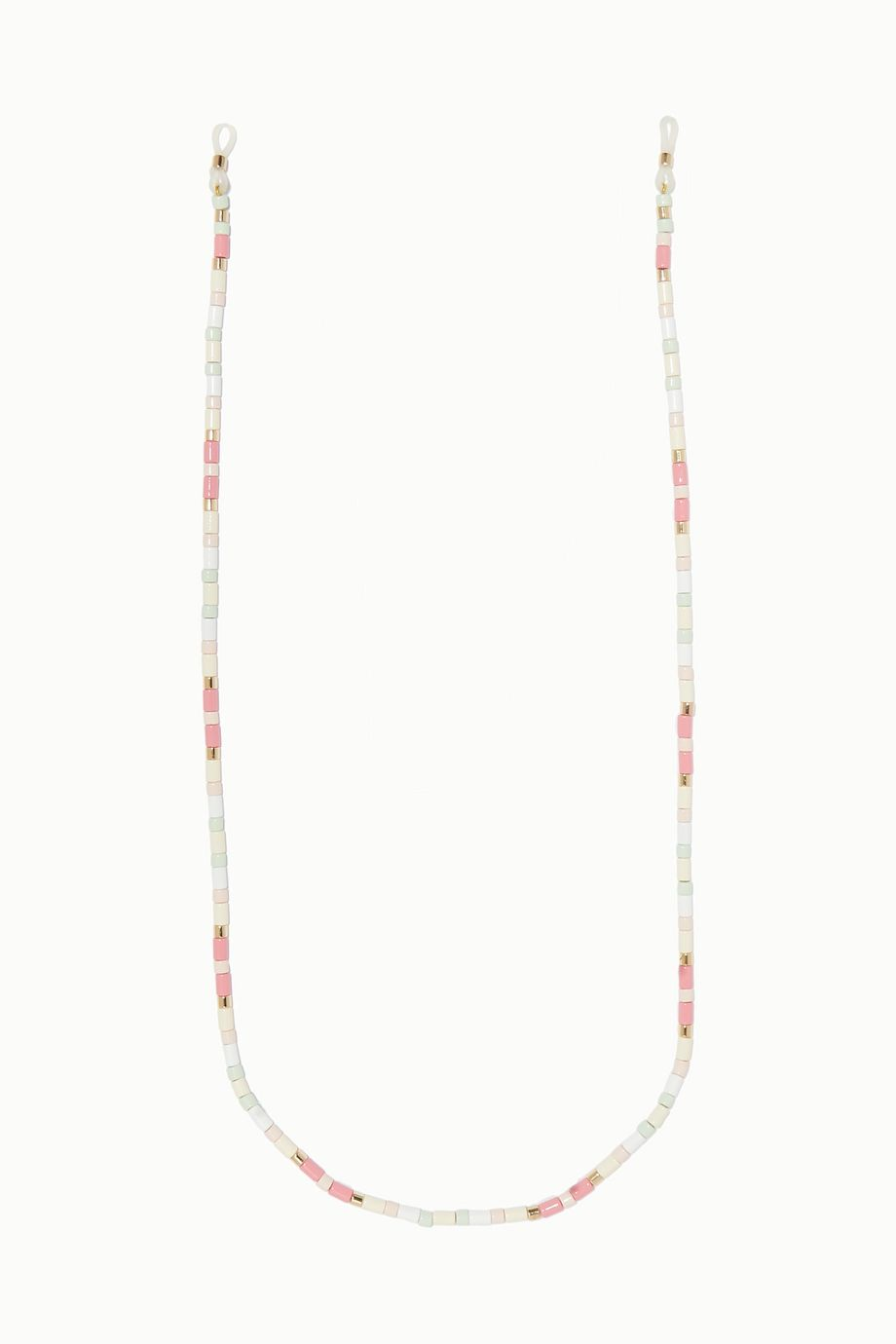 Roxanne Assoulin Bahamas enamel and gold-tone sunglasses chain