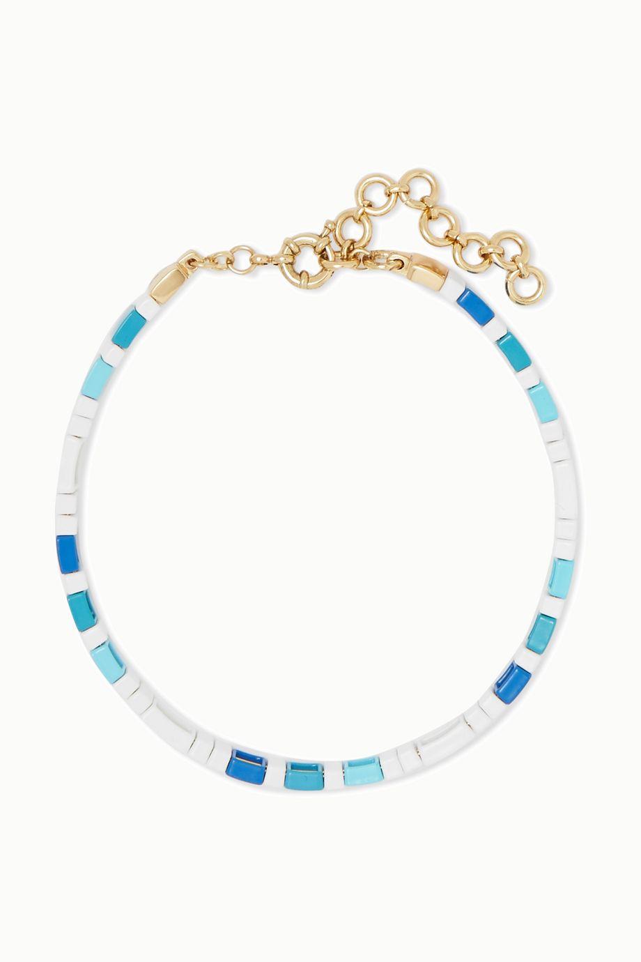 Roxanne Assoulin Mykonos 搪瓷项圈式项链